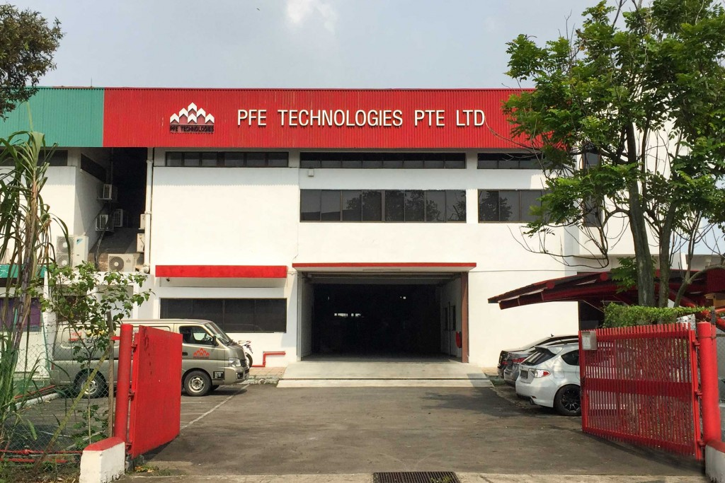 PFE Technologies factory producing silicones and abrasives
